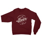 sweater,beer,woods,camping