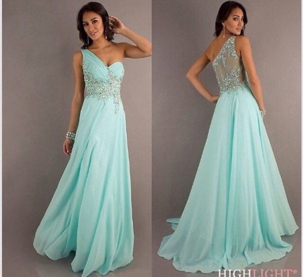 Blue Prom Dresses Tumblr