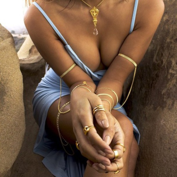 dress jewels gold bracelet gold trendy jewelry blue gold jewelry Arm Cuff bracelets rings and tings