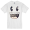 Smiley monster face t-shirt - basic tees shop