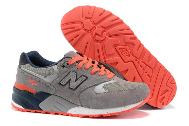 Women's new balance WL999VT lover Grey Blue Orange Shoes
