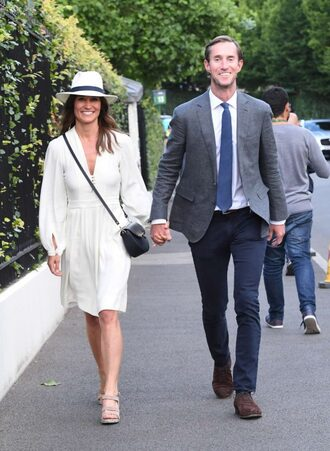 dress sandals spring dress spring outfits pippa middleton white white dress
