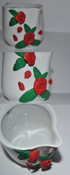 rose roses flowers jewels brocca rosa fiori porta latte milk decorations
