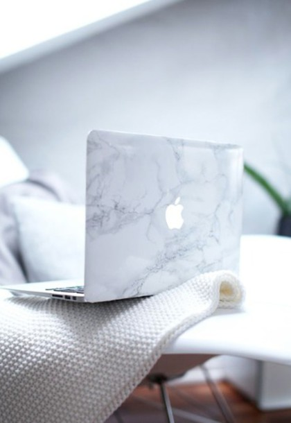 phone cover mac cosmetics apple marble mac book cover laptop cute pattern grey tumblr. Black Bedroom Furniture Sets. Home Design Ideas