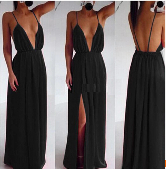 Wedding Elegant Spaghetti Strap Embroidery Pleated Backless Maxi Dress Party prom dress OM225/ sweet and sales very well-in Apparel & Accessories on Aliexpress.com | Alibaba Group