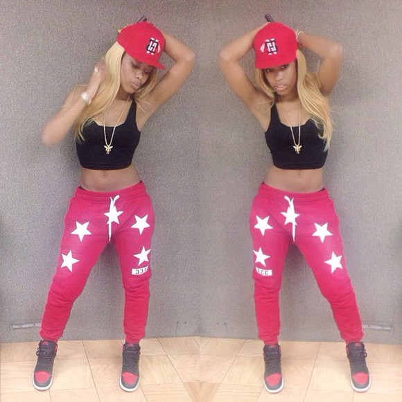 supreme red white nyemiah supreme nyemiah sisterhood of hip hop stars rapper rappers queen fcc fashion flawless gorgeous beautiful oxygen tv show casual