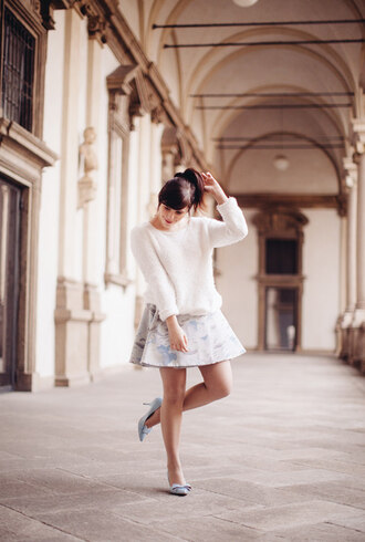 wish wish wish sweater skirt shoes jewels