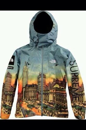 coat jacket north face