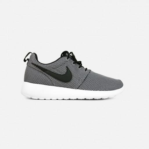 Nike Roshe Courir Décole Primaire (gris Clair / Noir-blanc)