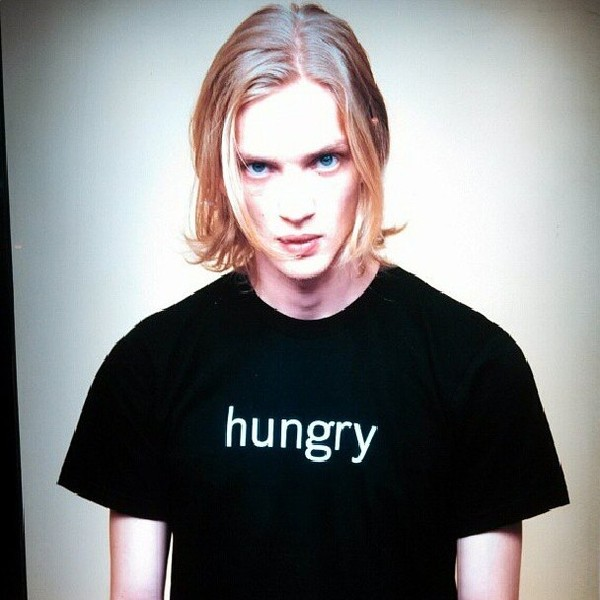 t-shirt t-shirt hungry black mens t-shirt