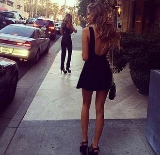 dress little black dress romantic dress skater skirt skater dress