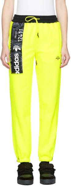 ADIDAS ORIGINALS BY ALEXANDER WANG pants yellow