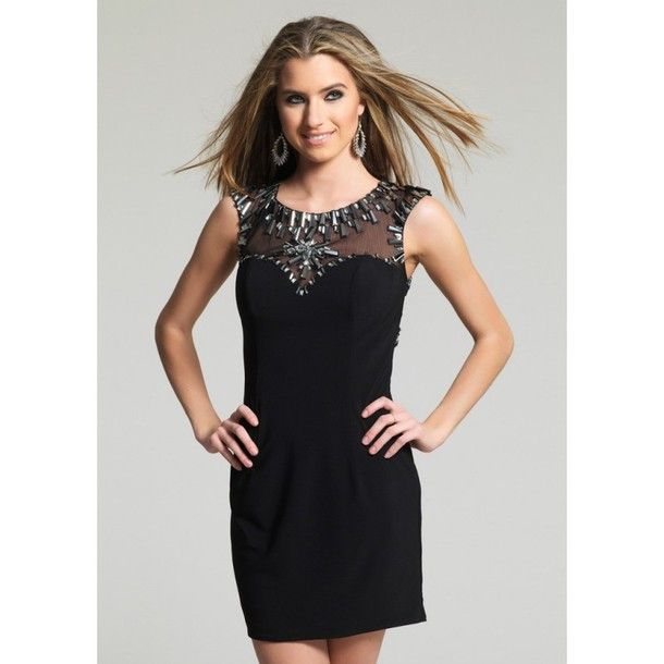 3346614e127 dress black dress prom dresses on sale dave and johnny 8787 spring high-low  dresses