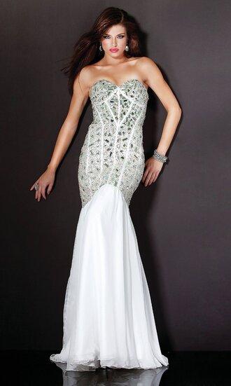 dress black rhinestones mermaid prom dress long floor length dress fancy shiny prom 2015 sweetheart neckline corset back