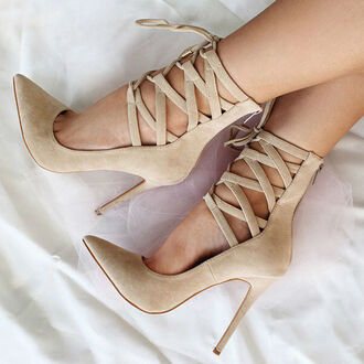 shoes high heels high heel pumps nude heels