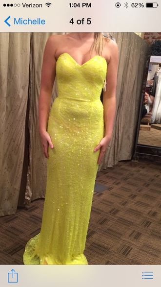 dress prom sexy dress homecoming dress prom dress yellow dress