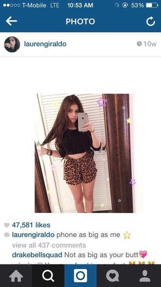 shorts cheetah print shorts leopard print