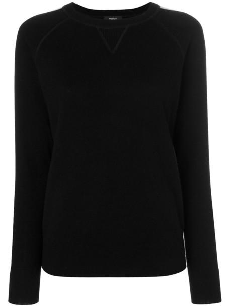 theory jumper women black sweater