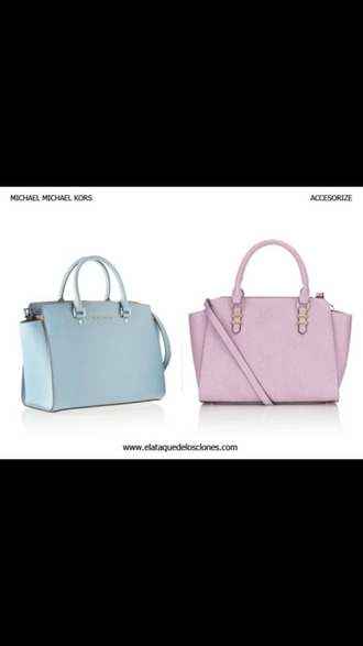 bag michael kors blue bag