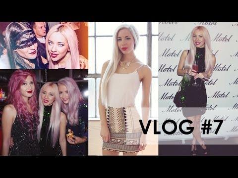Vlog #7   Halloween, Modelling, Motel Rocks Party! 2013 - YouTube