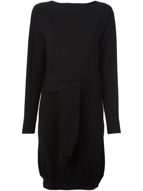Mm6 Maison Margiela dress women black wool