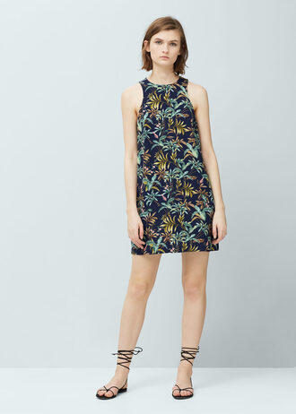 dress tropical tropical dress printed dress
