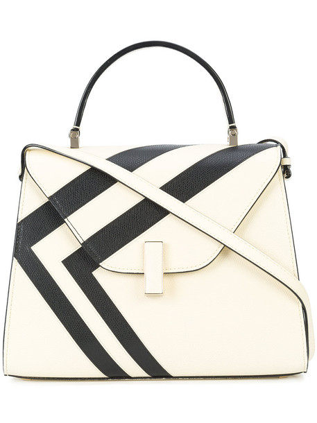 Valextra women leather white bag