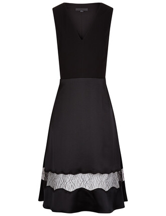 dress lace black