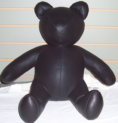 Leather teddy bears