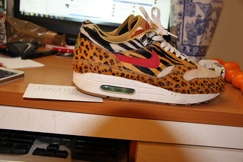 the latest 1cd2a 2feb5 Nike Size 9.5 Air max 1 Supreme Animal Pack Safari Leopard Atmos Sole  Collector   Marketplace