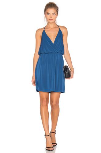 dress mini dress mini blue