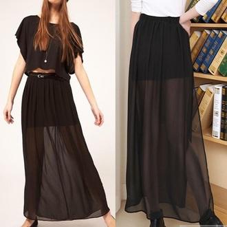 skirt black black maxi dress long black long maxi dress maxi skirt little black dress black maxi skirt red lime sunday