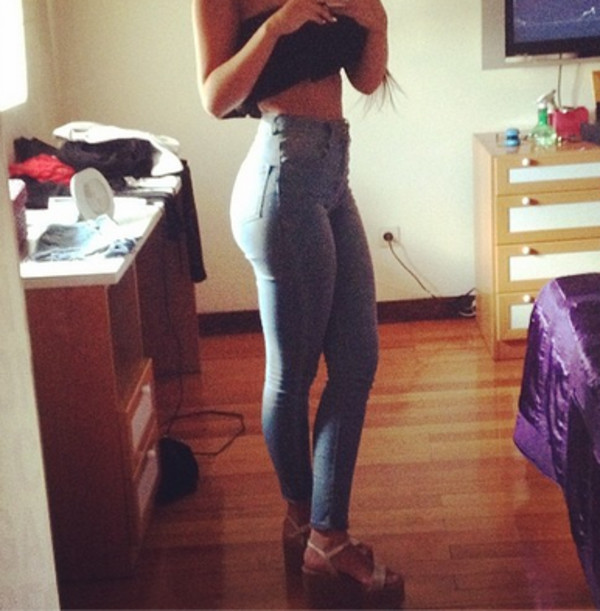 jeans high waisted jeans skinny jeans