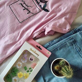 phone cover yeah bunny flowers cute daisy floral floral phone case iphone cover iphone case