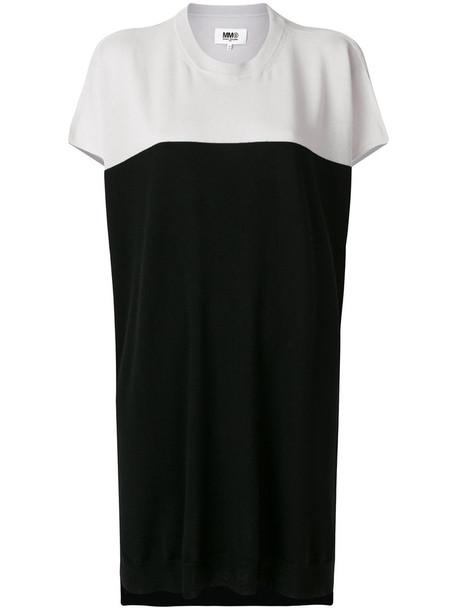Mm6 Maison Margiela dress sweater dress women black wool