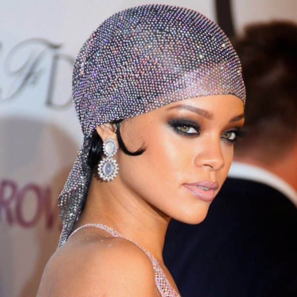 aadd7ecdc1d hat rihanna rhinestones turban flapper vintage 1920s the great gatsby head  jewels