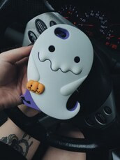 phone cover,white,iphone case,halloween,ghost