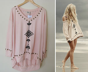 **soldout rare** spell designs southwest studded sloppy joe $169 s/m nwt wildfox on the hunt