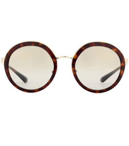 Prada sunglasses round sunglasses brown
