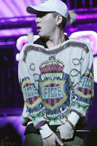 sweater sweatshirt clothes mens sweater jacket vintage korean fashion korean style tv/movies knitwear knitted sweater