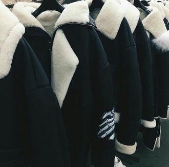 jacket leather jacket skeleton black wool coat leather jacket with fur