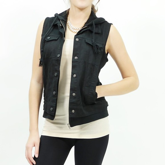 jacket button up top vest vest top hoodie fall jacket casual jacket casual jacket,hoodie,sweatshirt,black fall outfits