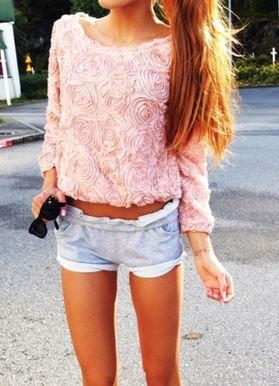 Rose 3d sweater