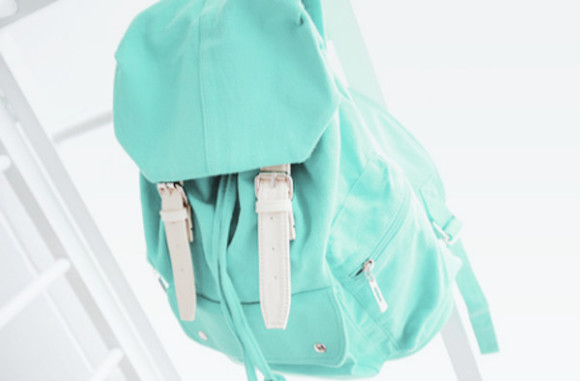 bag backpack mint