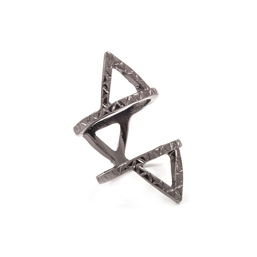 Triangular Geo Knuckle Ring
