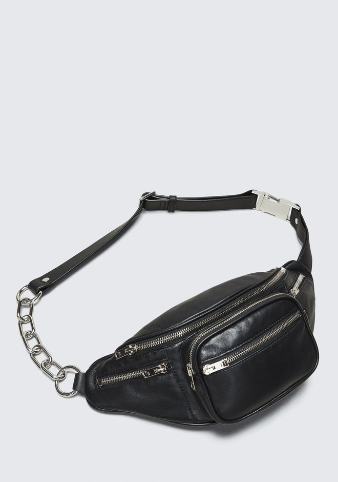 c8c6f494e14  Alexander Wang BLACK ATTICA FANNY PACK Shoulder Bag ...