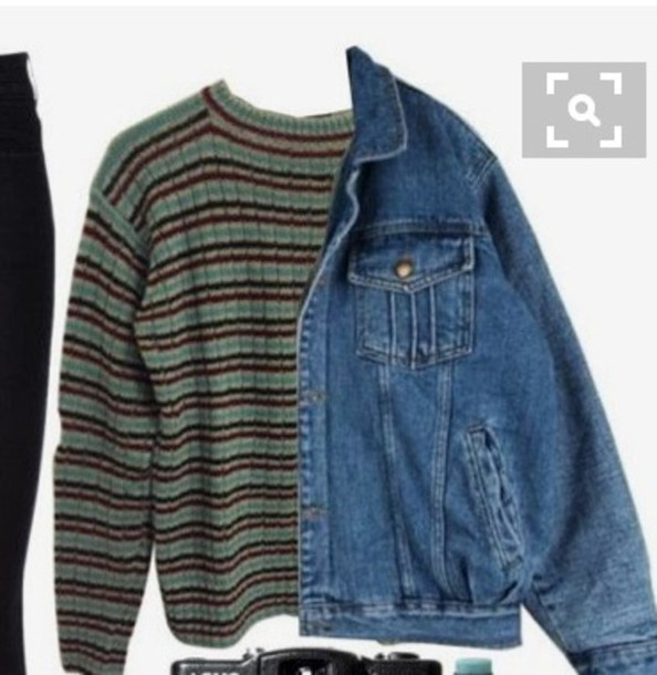 sweater grunge grunge sweater rock