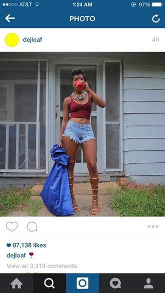 shoes nude shoes dej loaf high waisted denim shorts