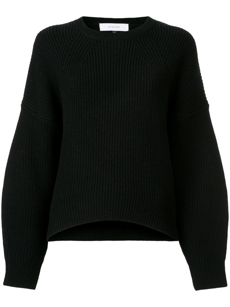 Le Ciel Bleu jumper women black wool knit sweater