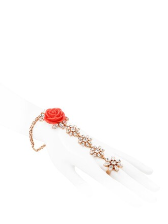 rose ring coral jewels